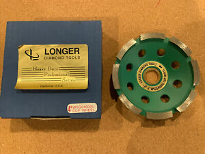 Longer Diamond Tools 4 Grinding Cup Wheel Wsg04000u New