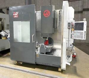 Haas Umc750 Universal Cnc Vertical Mill 5 Axis Cnc Machining Center 2014