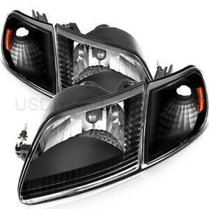 For 97 03 Ford F 150 97 02 Ford Expedition Headlight Assembly Driver Passenger