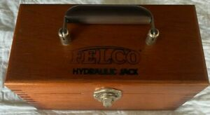 Felco Hydraulic 10 Ton Jack With Original Wood Box Unused Machinery Lowlift