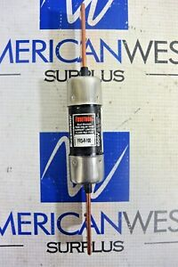 Bussmann Fusetron Frs r 100 100 Amp 600 V Dual Element Class Rk5 Used