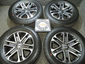 2021 Ford F150 F 150 Fx4 Fx 20 Wheels Tires Hankook At P275 60r20 Factory Oe 98