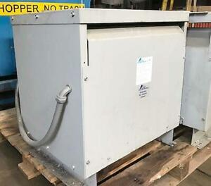 45 Kva Acme Electric 480 Primary To 208 Y Secondary Transformer Model Tp533133s