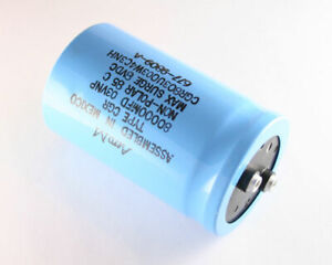 Cgr803u003w4c3nh Aero m Capacitor 80 000uf 3v Aluminum Electrolytic Large Can Co