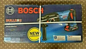 New Bosch 18v Bulldog 1 Sds plus Brushless Rotary Hammer Gbh18v 26dk15 Hd