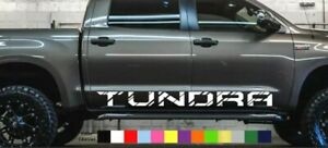 Toyota Tundra Vinyl Decal Sticker Graphics Trd Sport Side Door X2 Any Color