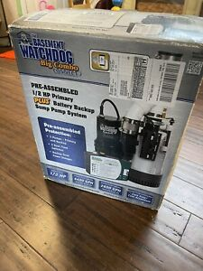 Glentronics Bw4000 Basement Watchdog Primary And Back Up Sump Pump System