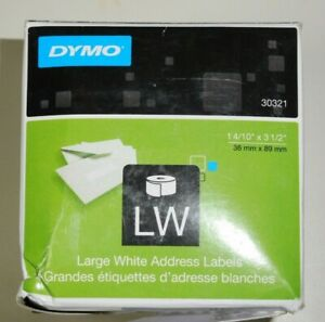 New Dymo 30321 Large White Address Labels 1 4 10 X 3 1 2