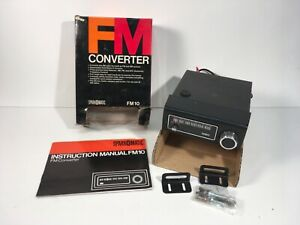 New Nos Vintage Sparomatic Fm10 Fm Converter Am To Am Fm Car Radio W Manual