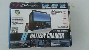Schumacher Ssc 1500a Fully Automatic Charger Any Style Battery Reg Gel Agm