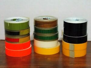 Vintage Lot Of 15 New Rolls Of Dymo Labeling Tape 1 2 X 12 Various Colors