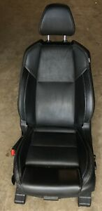2016 2018 Nissan Maxima Front Left Driver Side Seat Black Leather Nb1 ss088