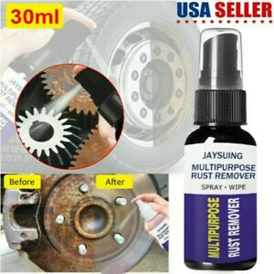 Rust Cleaner Spray Derusting Spray Car Maintenance Cleaning Rust Remover 30ml