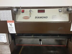 Challenge Paper Cutter 26 5 Diamond Digital Display Works Great