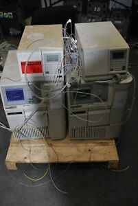 Lot Of 2 Waters 2695 Alliance Separations Module 2487 Uv Detector Hplc