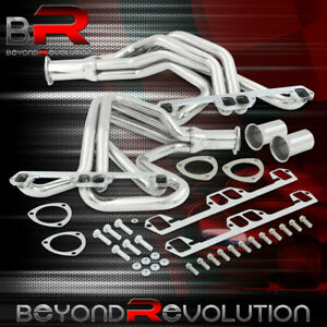 For Dodge Plymouth 2 4wd Truck 318 360 V8 Performance Full Length Header Exhaust