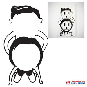 Adult Dirty Plug In Stickers Vinyl Decal Ready To Apply
