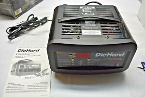 Diehard Gold 80 Amp Auto Detect Battery Charger Engine Starter 71326
