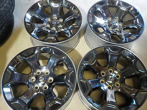 4 2020 Dodge Ram 1500 Factory 20 Chrome Alloy Wheels 6 Lug Oe 126q