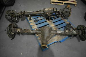 Jeep Jk Dana 44 Dana 30 Axle Set With Almost New 5 13 Yukon Gears And Rear