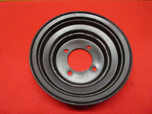 1970 1972 Ford 302 351w 351c Crankshaft Pulley 2 Groove Mustang Cougar Torino