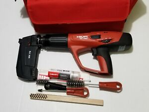 Hilti Dx 460 mx 72 Powder Actuated Tool Kit In Hilti Bag Pre Owned