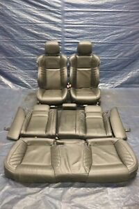 15 19 Dodge Charger Hellcat Srt 6 2l Oem Spa Laguna Leather Front Rear Seats