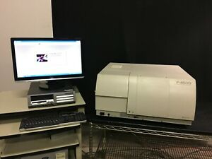 Hitachi F 4500 Bio research Fluorescence Spectrophotometer 3d Sw Clean Nice