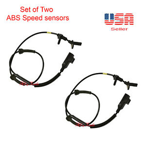 2 Abs Wheel Speed Sensor Front Right Left Fit Land Rover Range Rover Evoque