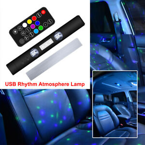 1 Usb Led Car Roof Star Night Interior Light Atmosphere Galaxy Lamp Accessories