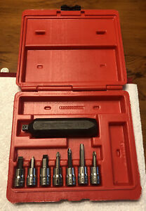 Snap On 8pc 3 8 Impact Driver Pit120 Set With Storage Case Only Used Once