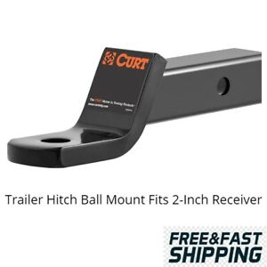 Trailer Hitch Ball Mount Fits 2 Inch Receiver Universal Car Truck Atv Class 3
