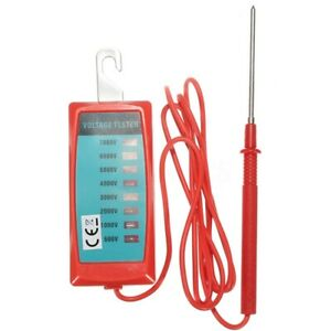 Electric Fence Voltage Tester For Farm Garden Solar Fence Fault O2j3