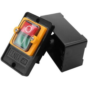 Ac 220 380v On off Water Proof Push Button Switch Kao 5 For Drill Motor Machine