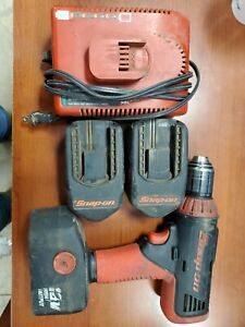 Snap On Cordless Drill With Batteries And Charger