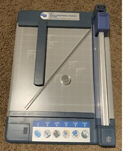 Carl Dc210 Heavy Duty Rotary Paper Trimmer 12 Inch