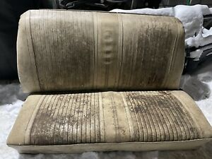 1964 1965 Chevelle Gto Convertible Rear Seat Back Seat Top Bottom 64 65