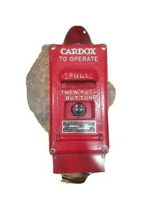 Cardox Pull Station Vintage Collectible