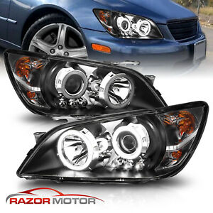 Led Halo 2001 2002 2003 2004 2005 For Lexus Is300 Projector Led Headlights