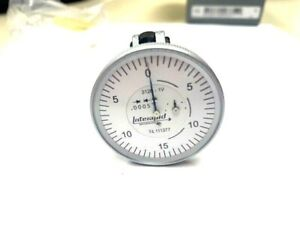 Interapid 1 1 2 Dial Test Vertical Indicator 312b 1v 74 111377 New In Box