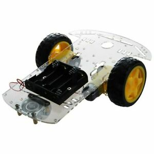 3x new 2wd Smart Motor Robot Car Chassis Battery Box Kit Speed Encoder For