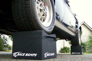 Race Ramps Rr wc 12 Lightweight 12 Wheel Cribs pair Tire Cradle Show Car