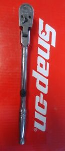 Snap On Tools 3 8 Drive 11 1 4 Long Locking Flex Head Ratchet F841 Ships Free