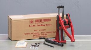 Forster CO AX B5 Reloading Press 028271 Brand New Free Shipping $649.00