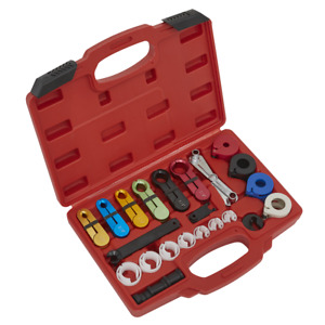 Sealey Fuel Air Conditioning Disconnection Tool Kit 21pc vs0457