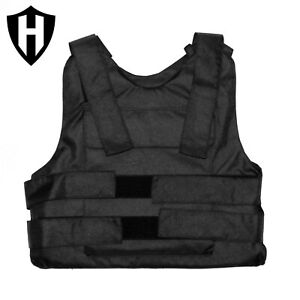 Level IIIA Body Armor Bullet Proof Vest made with Kevlar 5.5lbs amp; test video $260.00