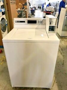 Mat14pd Maytag Coin Operated Top Load Washing Machine Used