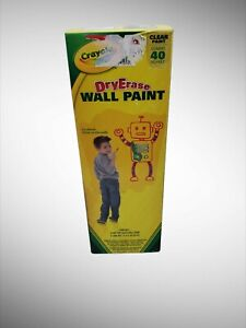 Crayola Dry Erase Wall Paint Draw On The Wall