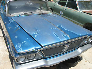 1963 1964 Chrysler New Yorker Newport 300 Hood