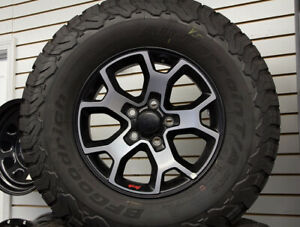 Free Us Shipping Jeep Rubicon 2020 Oem 5 Brand New Wheels Tires Bf Good K02
